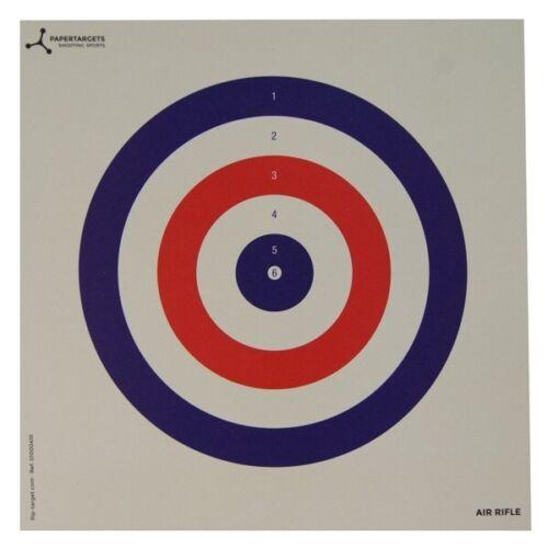 Flip Target Carte Air Rifle pratique animaux cibles Pack de 25