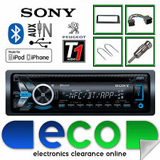 Peugeot 106 Sony CD MP3 USB Bluetooth Handsfree Ipod Iphone Radio Stereo Kit