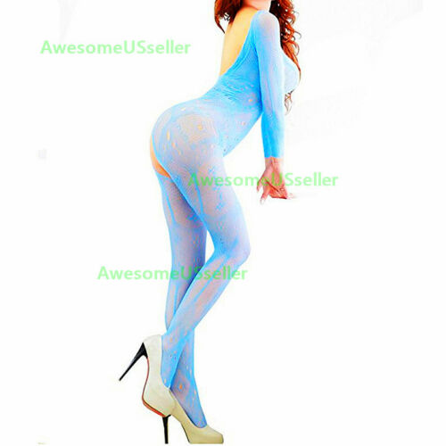 Women Lingerie Stocking Sleepwear New Bodystocking Fishnet Body Babydoll Chemise