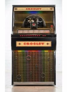 Details about Crosley Rocket 45 Vinyl Jukebox - Black