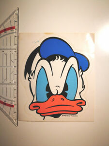 Walt-Disney-Micky-Maus-Sticker-Aufkleber-Rar-Micky-Mouse-Donald-Duck