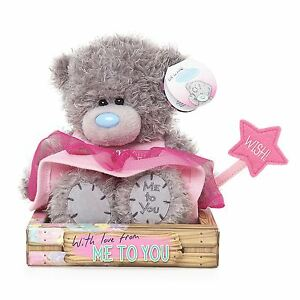 """Me to You 7"""" Granddaughter Pink Fairy Outfit Plush & Wand - Tatty Teddy Bear"""