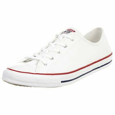Converse Ctas Dainty Ox Chuck Shoes Canvas Ladies White 564981C | eBay