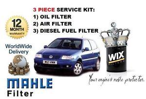 Fur-Volkswagen-VW-Polo-1-9tdi-1997-2001-Service-Kit