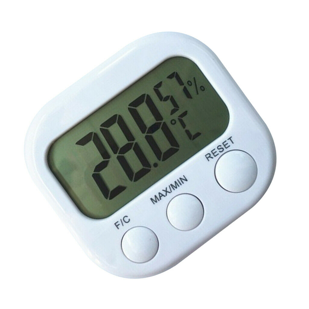 Digital thermo-hygrometer room climate control humidity meter hygrometer
