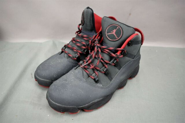 new style a822a c2c02 Nike Air Jordan Winterized 6 Rings Gym Black Red Shoes Size 10.5 414845-005