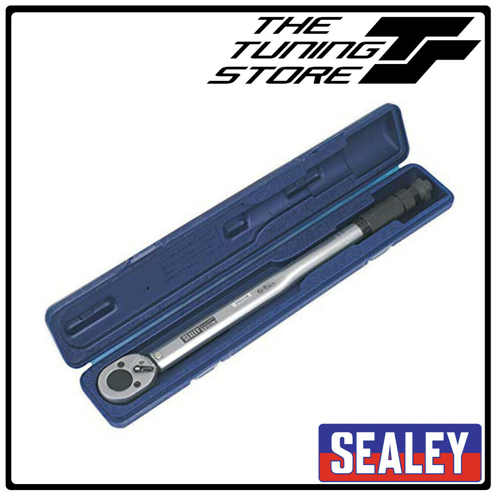 Sealey AK624 Micrometer Torque Wrench 1 2 Sq Drive Calibrated BNIB