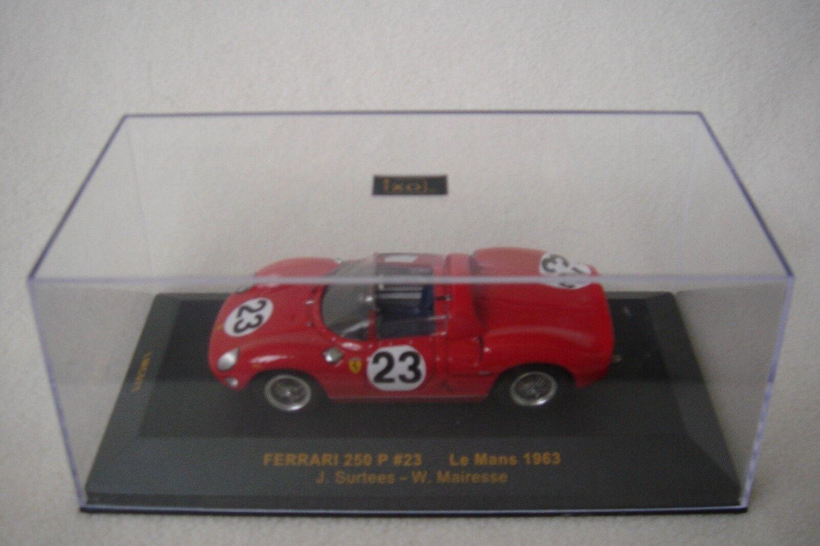 IXO 1 43 Ferrari 250 P John Surtees & Willy Mairesse LMC071