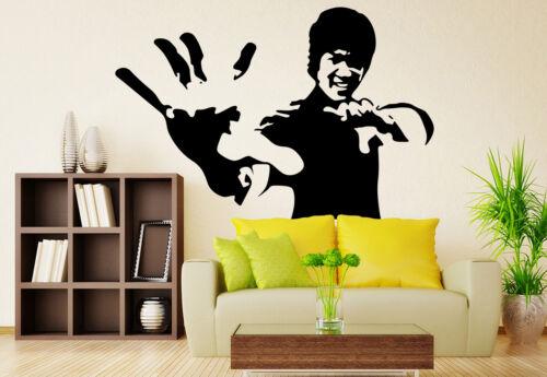 Bruce Lee large porpuler living room Wall Stickers Art Decal UK RUI105