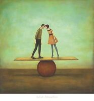 Finding Equilibrium Duy Huynh Art Print 32x32 Fantasy Surreal Quirky Strange
