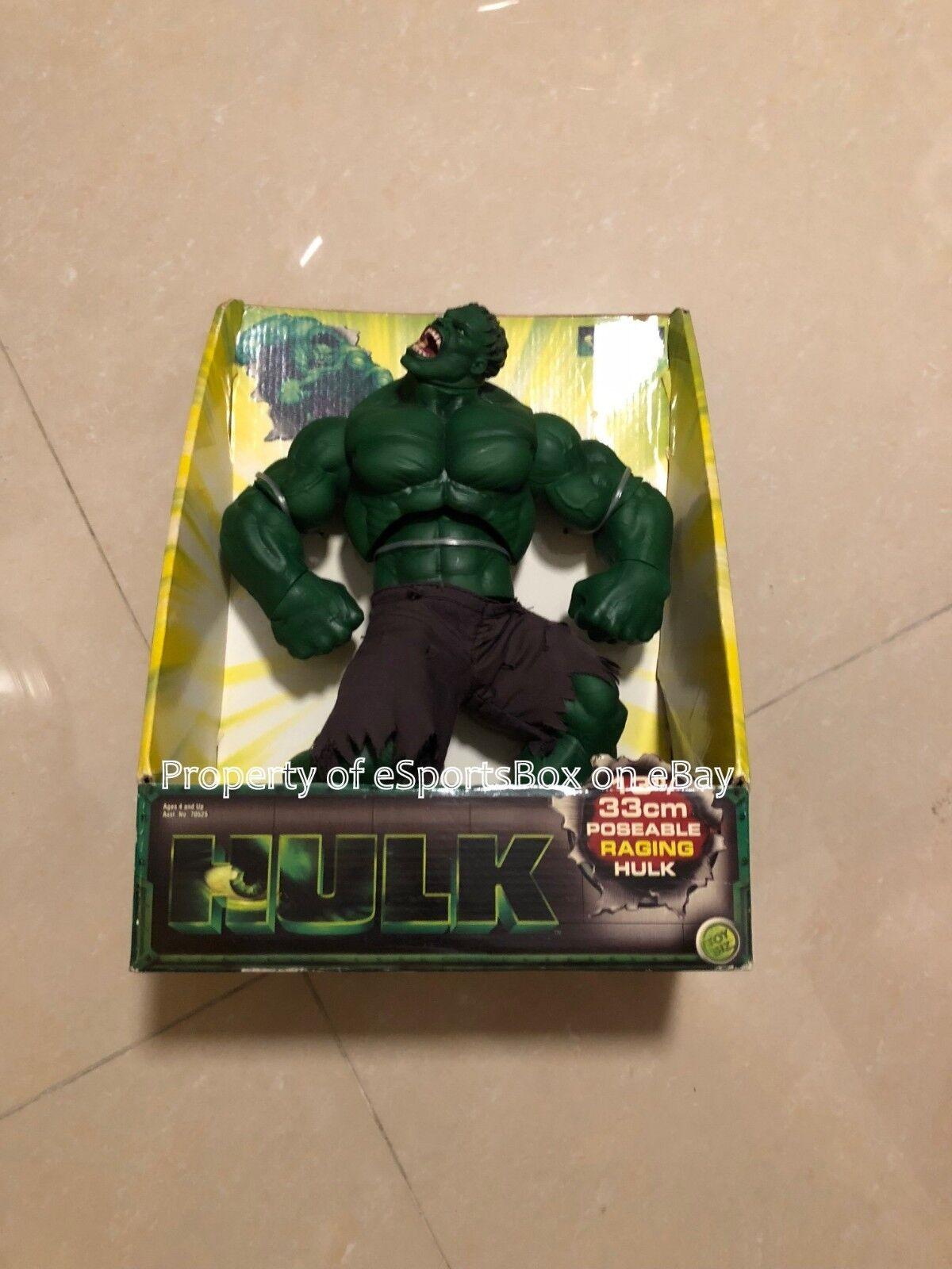 Brand new in box der unglaubliche hulk - film toy - biz - 13 - zoll - wtende action - figur