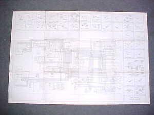 1965 ORIGINAL CADILLAC ELECTRICAL WIRING DIAGRAM SERVICE ...