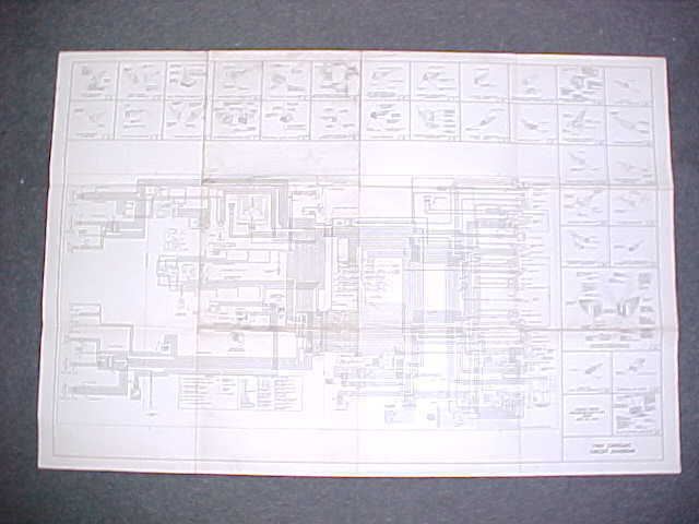 1965 Original Cadillac Electrical Wiring Diagram Service