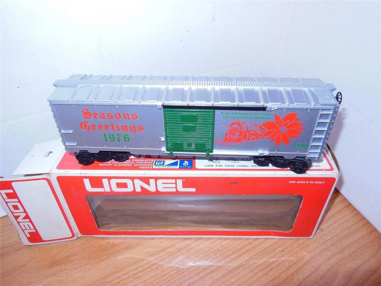 Lionel PRODUZIONE LIMITATA 7806  1976 vagone di NataleMentaW2