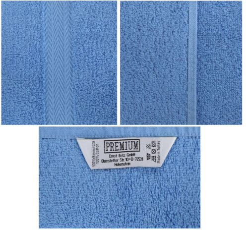 Betz 10 seiftücher seiflappen seiftuch endeble premium 30x30 azul//rojo