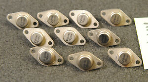 Lot de 10 x  transistor 2N3441  Thomson SGS   ( AX414 )