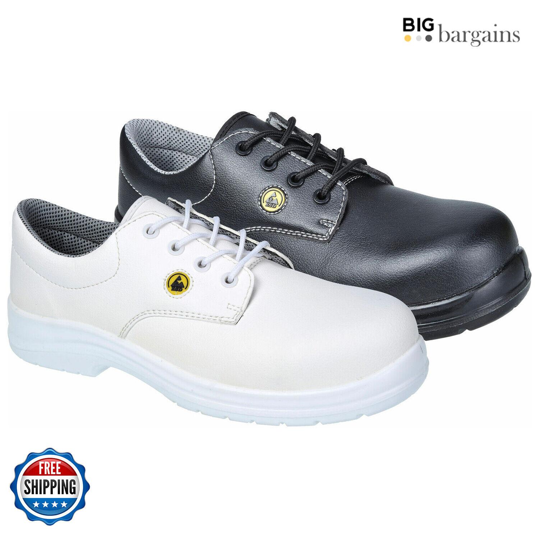 Portwest Safety Shoe S2 Compositelite ESD Laced Men Workwear Non Metallic FC01