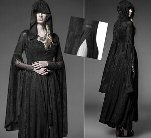 3b93842566a Image is loading Veste-longue-robe-gothique-lolita-baroque-dentelle-voilage-