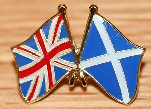 Scotland /& Lithuania  Pin Badge