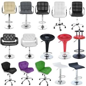 Astonishing Details About Office Chair Pu Leather Computer High Back Armchair Pub Barstool Bar Stool Chair Alphanode Cool Chair Designs And Ideas Alphanodeonline