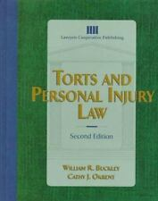 Torts and Personal Injury Law-ExLibrary