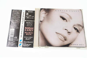 MARIAH CAREY MUSIC BOX SRCS 6819 CD JAPAN OBI A12029