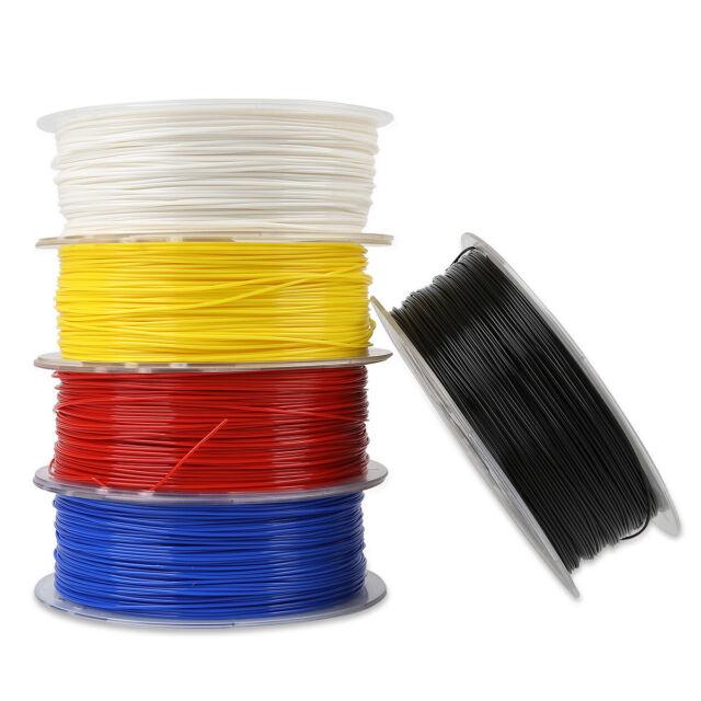 3D Printer PLA Silk Filament 1.75mm 2.2 LBS Rainbow 1KG For Geeetech Creality 3S