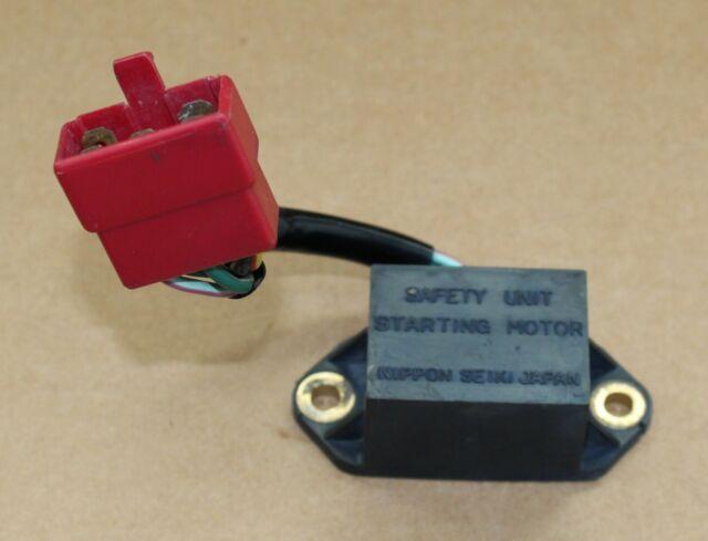 1974 Honda Cb750 Cb 750 Starter Motor Safety Unit Relay