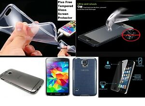 Thick-Clear-Gel-Case-Cover-amp-Free-Tempered-Glass-film-For-iPHONE-SAMSUNG-DEAL