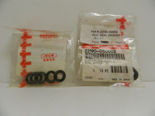 YANMAR OEM PART NUMBER 22190-08002 SEAL FUEL WASHER 8S