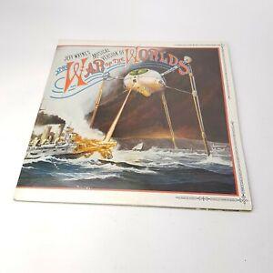 JEFF-WAYNE-War-Of-The-Worlds-1978-UK-Double-Vinyl-LP-With-Original-Book-Insert