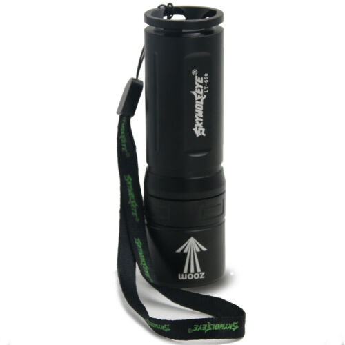 LED Flashlights 90000LM T6 Zoomable Military Torch Tactical Super-Bright 3 Modes