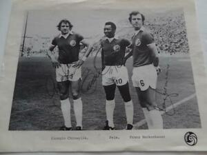 Overig NY Cosmos Beckenbauer and Pele Chingalia POSTER Kalenders, kaartjes, affiches