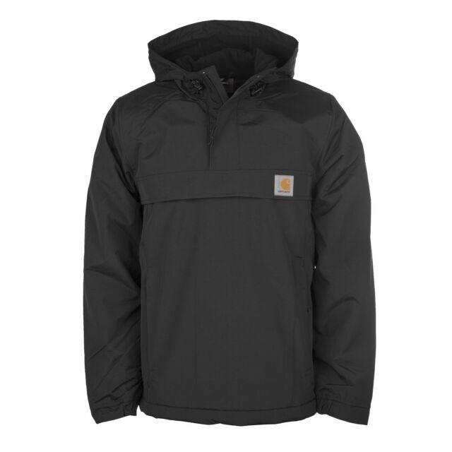 Carhartt Nimbus Winter Windbreaker Jacke schwarz Winterjacke für Herren