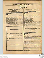 1936 PAPER AD Remington Shotgun Over Under Auto Loading Model 11 Take Down