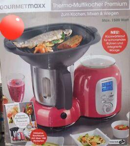 Gourmetmaxx Thermo Multikocher Premium 1500w Kochen Mixen 10in1