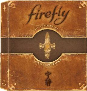 Firefly-The-Complete-Series-3-Disc-Limited-Anniversary-Collectors-BLU-RAY-NEW