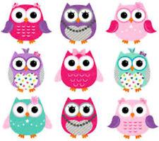 20 Valentine Owls Nail Design Nail Manicure Tip Sticker Decal Decoration