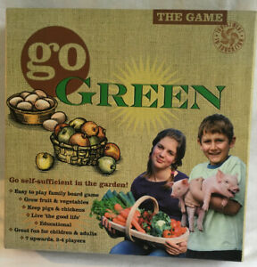 GO-GREEN-The-Game-2009-Board-Game-Go-Self-Sufficient-In-The-Garden-Complete