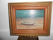 ANNE PACKARD PAINTING --- OIL ON BOARD --- SIGNED AND FRAMED