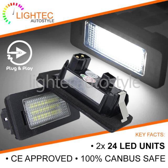 LED LICENSE NUMBER PLATE LIGHT LAMP BULB BMW E90 E91 E92 E93 F30 F31 F35 F80 M3