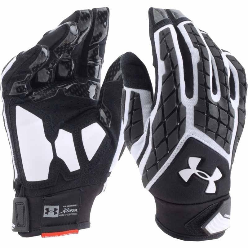 Under Armour Uomo UA Combat V Football Lineman Gloves 1271190-100