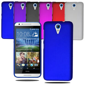 first rate 70746 8d9a9 Details about Slim Hybrid Hard Case Clip On Back Cover & Screen Protector  For HTC Desire 620