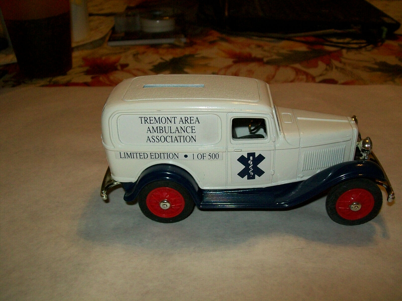 Ertl  25  Tremont, PA Area Ambulance Assn.  1932 Ford Panel Delivery Bank