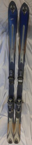K2 TNine Flight 167cm 1076897 Downhill Skis wLOOK Nova 10 Bindings