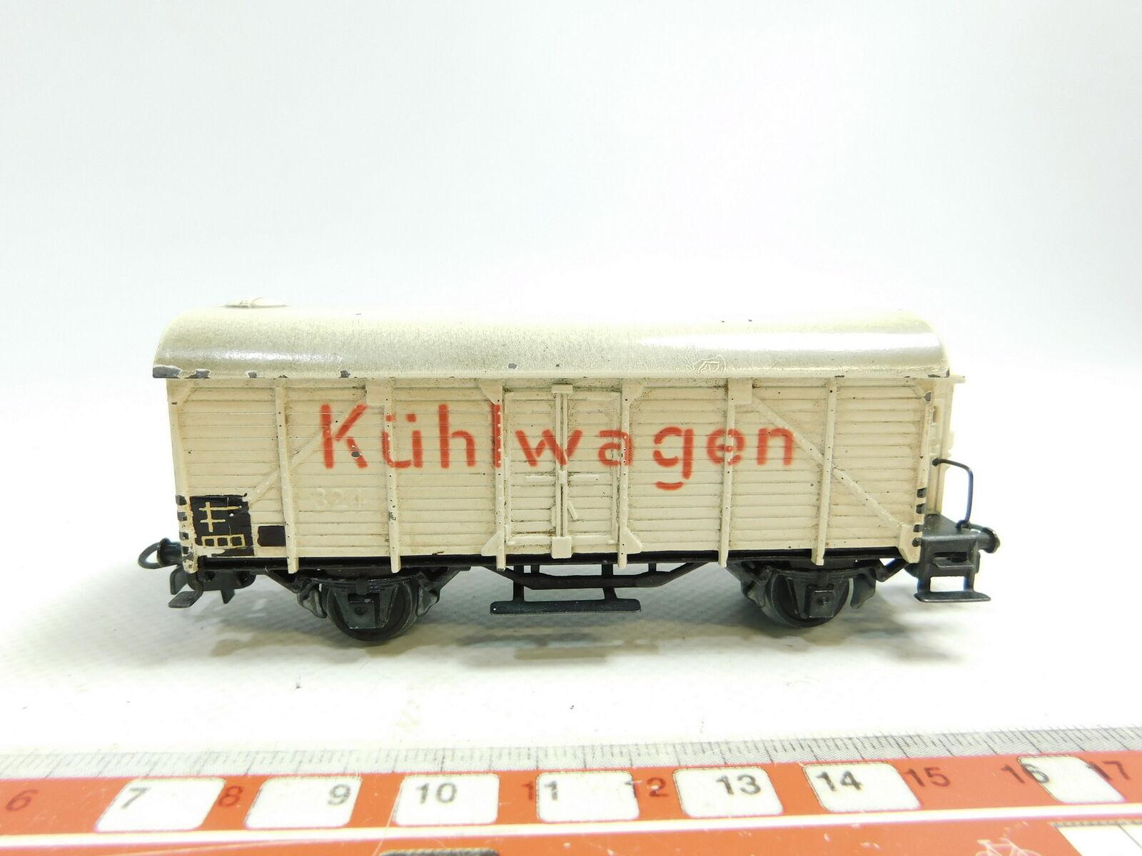 AW392-0,5Märklin H0 00 AC Guss-Kühlwagen Güterwagen 324