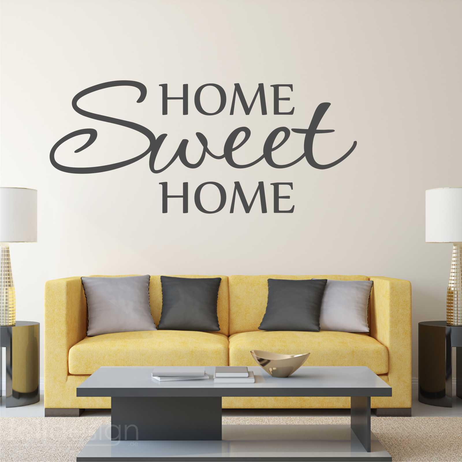 Malerisch Wandtattoo Home Sweet Home Galerie Von