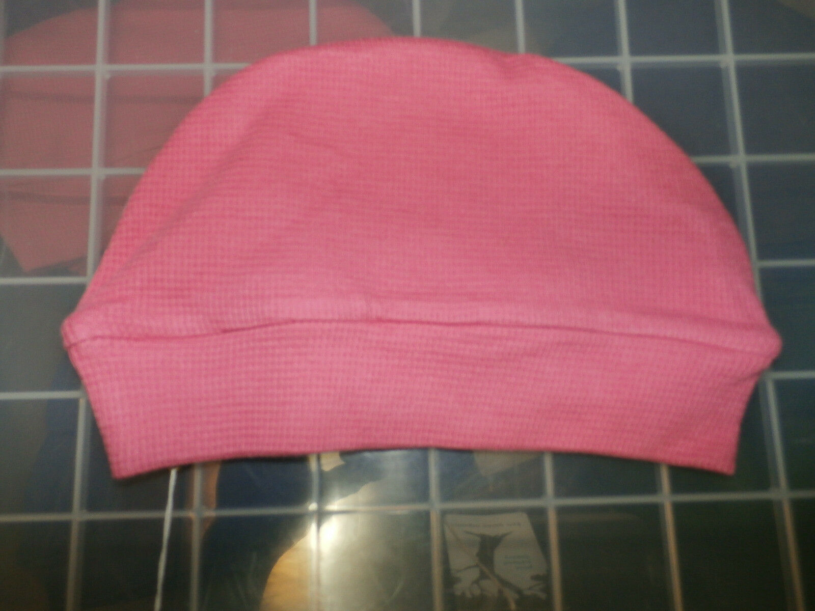 0-12M 100/% Organic Cotton Kate Quinn Thermal Baby Cap Hat Pink Green Blue Purple