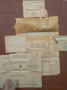 1930-LOTTO-DI-6-TELEGRAMMI-DIRETTI-A-ELIDE-SAFFI-BOESCH-NIPOTE-DI-AURELIO-SAFFI