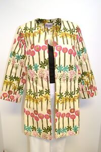 S l da Sisters donna Wildflower 3 3s715 Coat Jacket m Front 1993 Open Long Tunic YRZABT